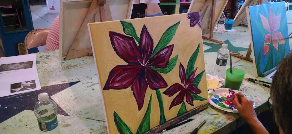 Learn To Paint Beautiful Flowers!
