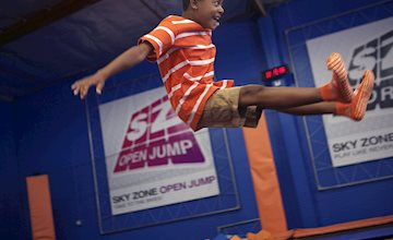 Toddler Time at Sky Zone in Pine Brook NJ