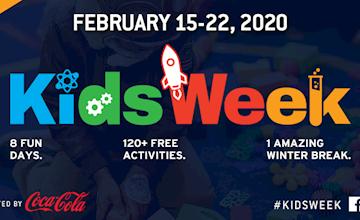 Kids Week at Intrepid Museum