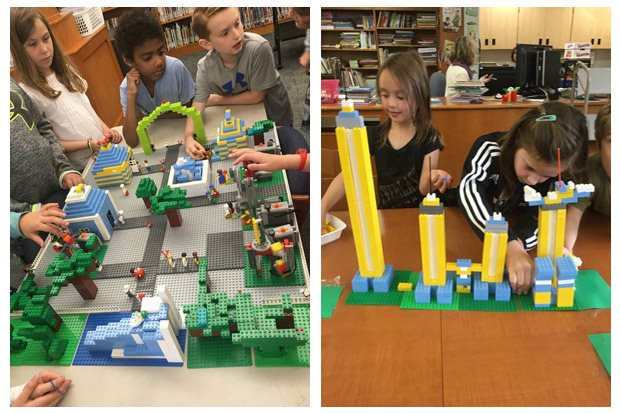 Bricks 4 Kidz In-School Field Trip..Fun building with Legos!