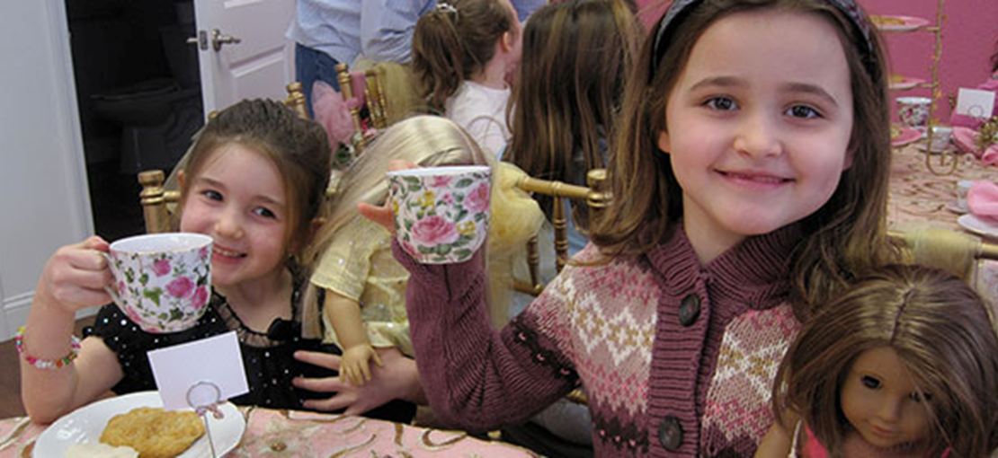 High Tea with Doll and Me!