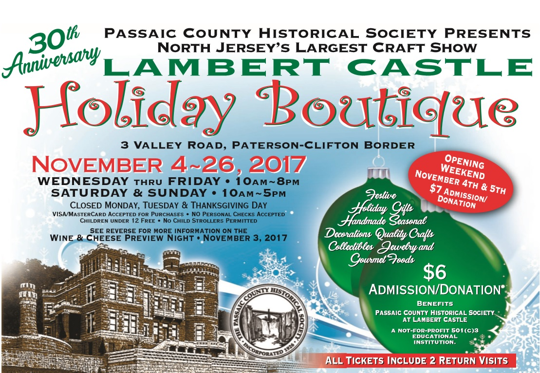 Lambert Castle Holiday Boutique