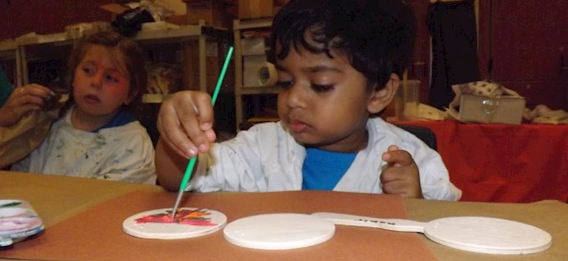 Age appropriate arts and crafts projects are a fabulous part of camp!