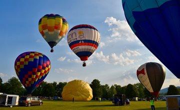 Warren County Hot Air Balloons, Fun & Games Festival-Warren County Community College-Washington