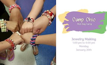 MLK Day Camp: Jewelry Making at The Eclectic Chic Boutique