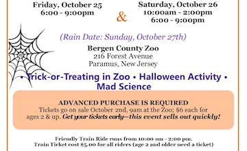 Boo Zoo at Bergen County Zoo