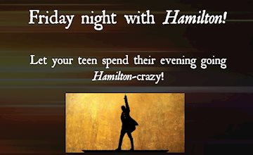 Friday night with Hamilton at  Liberty Hall Museum
