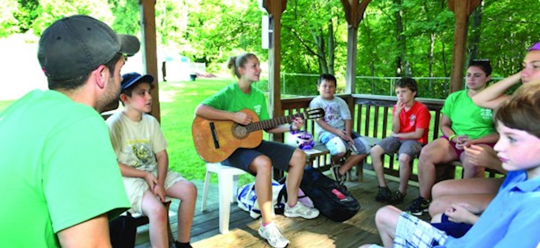 Music, drama, dance, a camp talent show and more are part of our performing arts program.