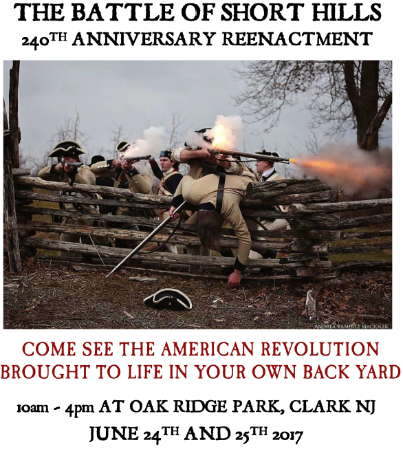 Historic American REvolutionay War Battle Re-Enactment