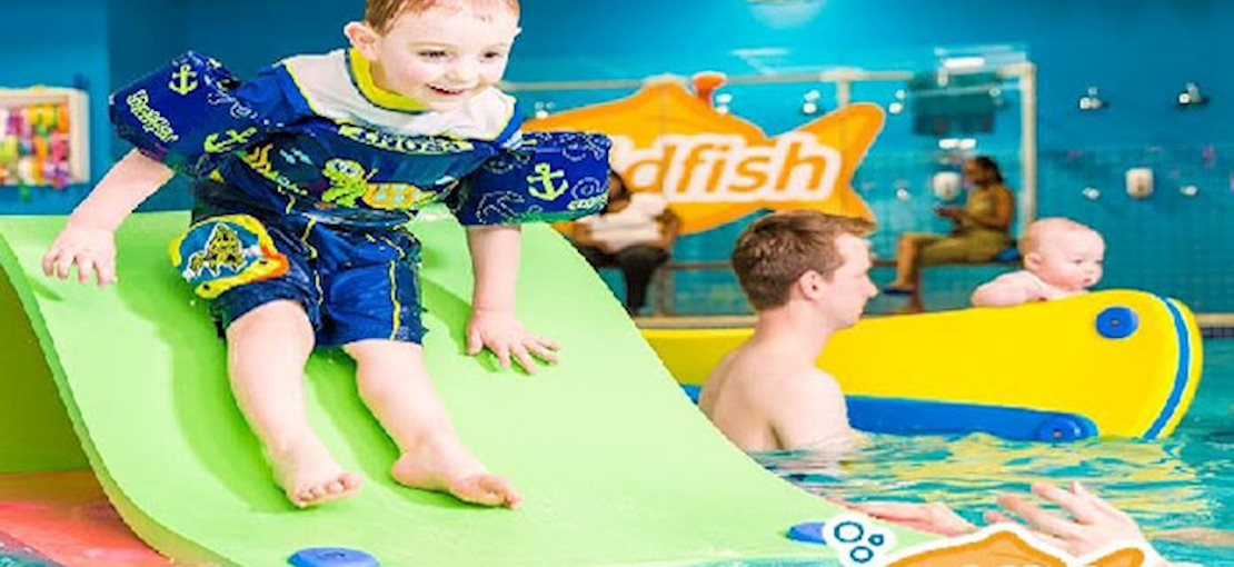 Swim Lessons start at 4 months of age to 12 years.