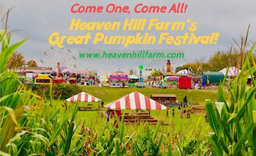 The Great Pumpkin Festival at Heaven Hill Farm