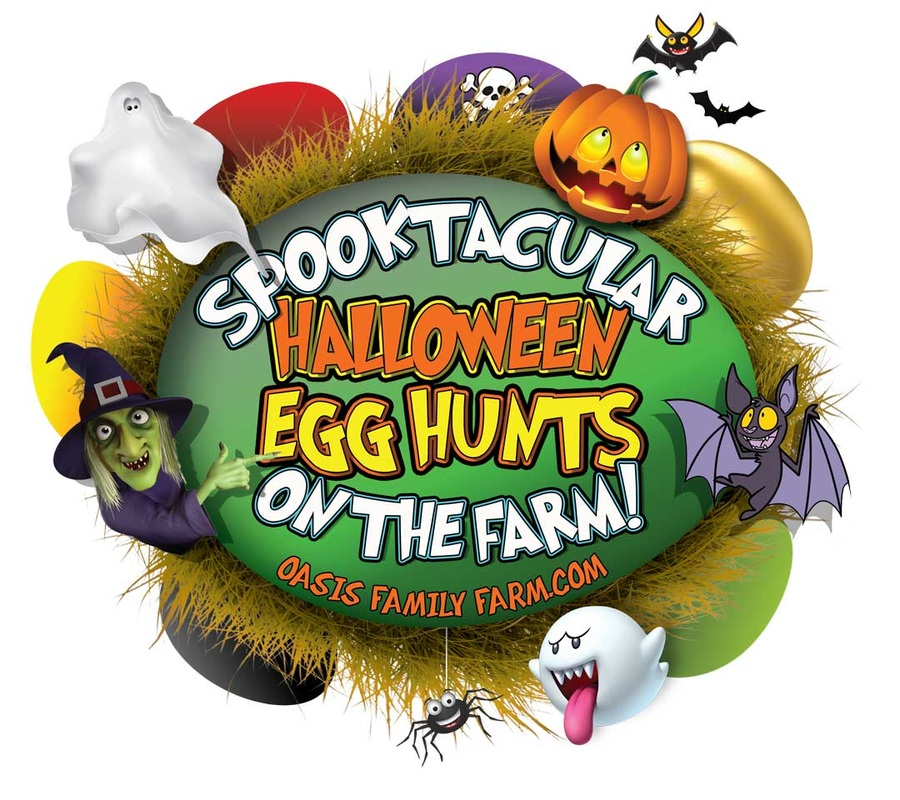 Spooktacular Egg Hunt at Oasis Family Farm