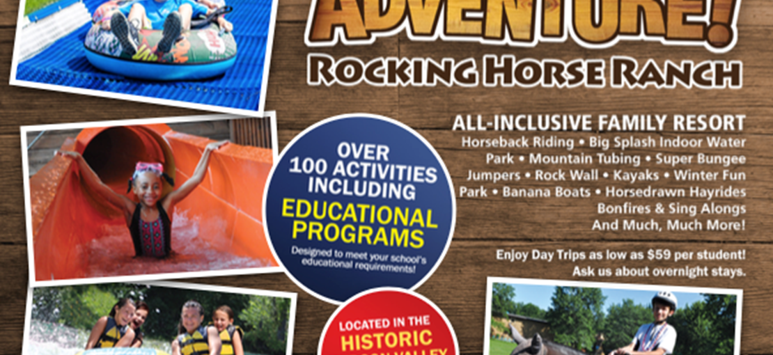 Rocking Horse Ranch - Book your school's next BIG Adventure!  Educational Programs
