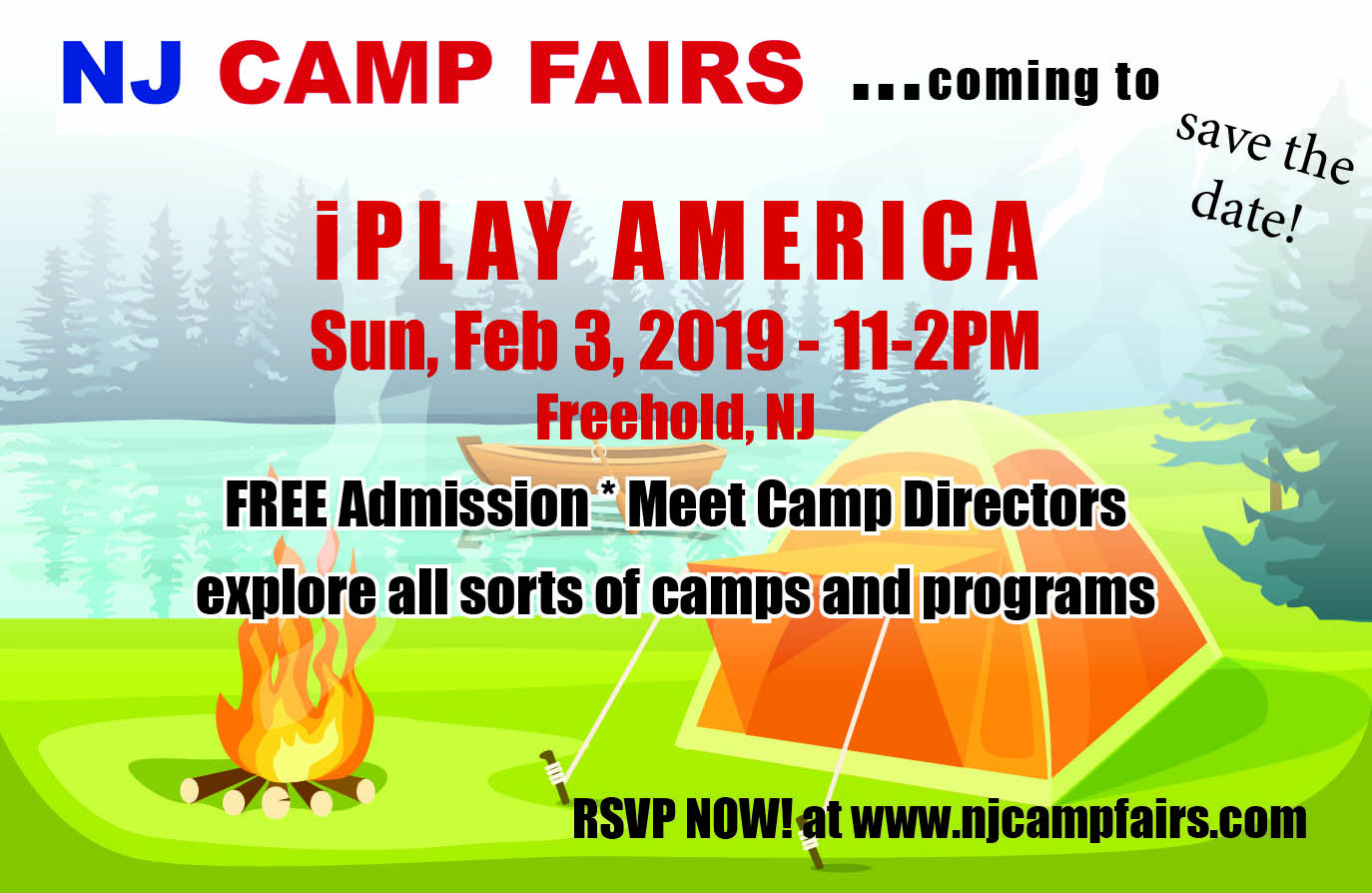 NJ CAMP FAIRS - held at iPLAY AMERICA