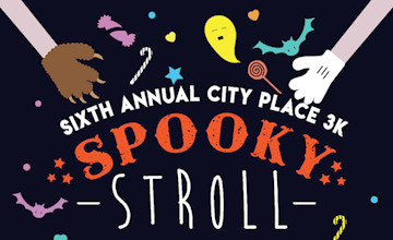 Sixth Annual 3k Spooky Stroll at City Place in Edgewater
