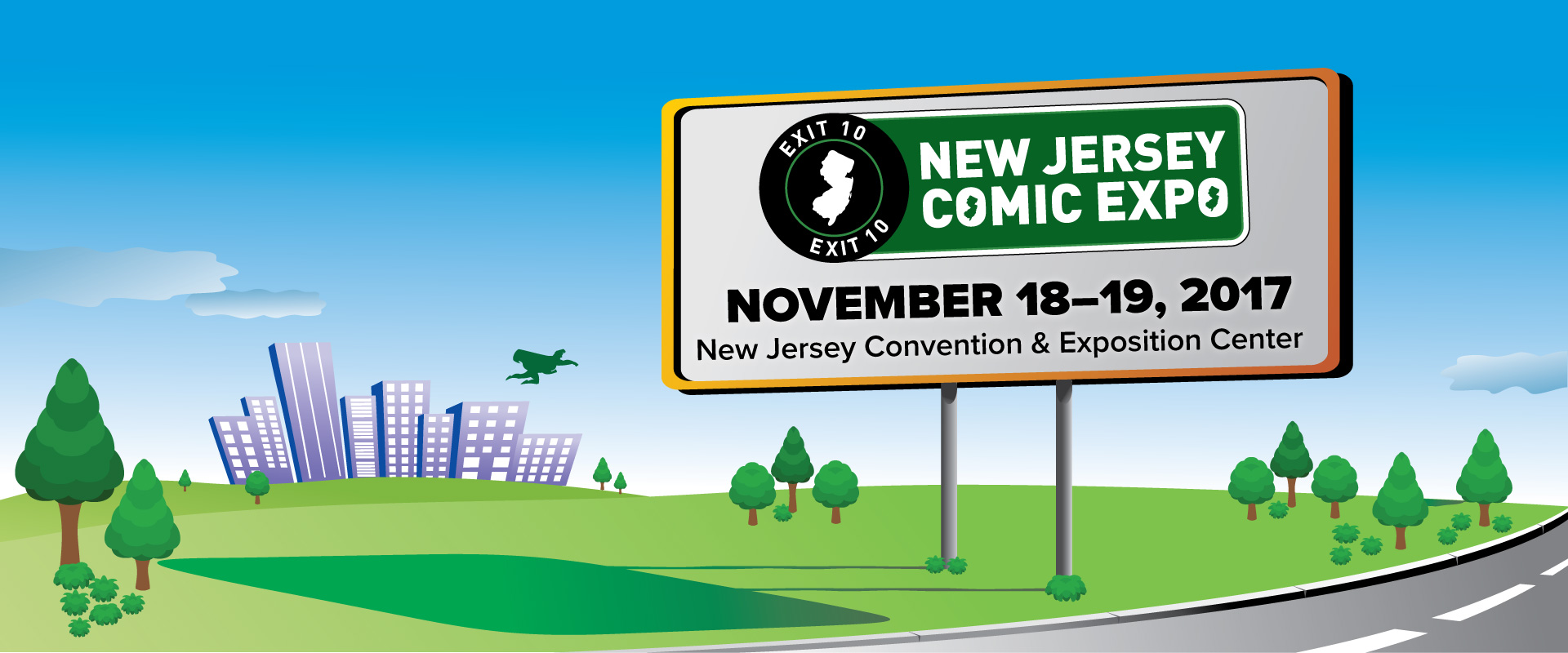 New Jersey Comic Expo at New Jersey Convention and Exposition Center