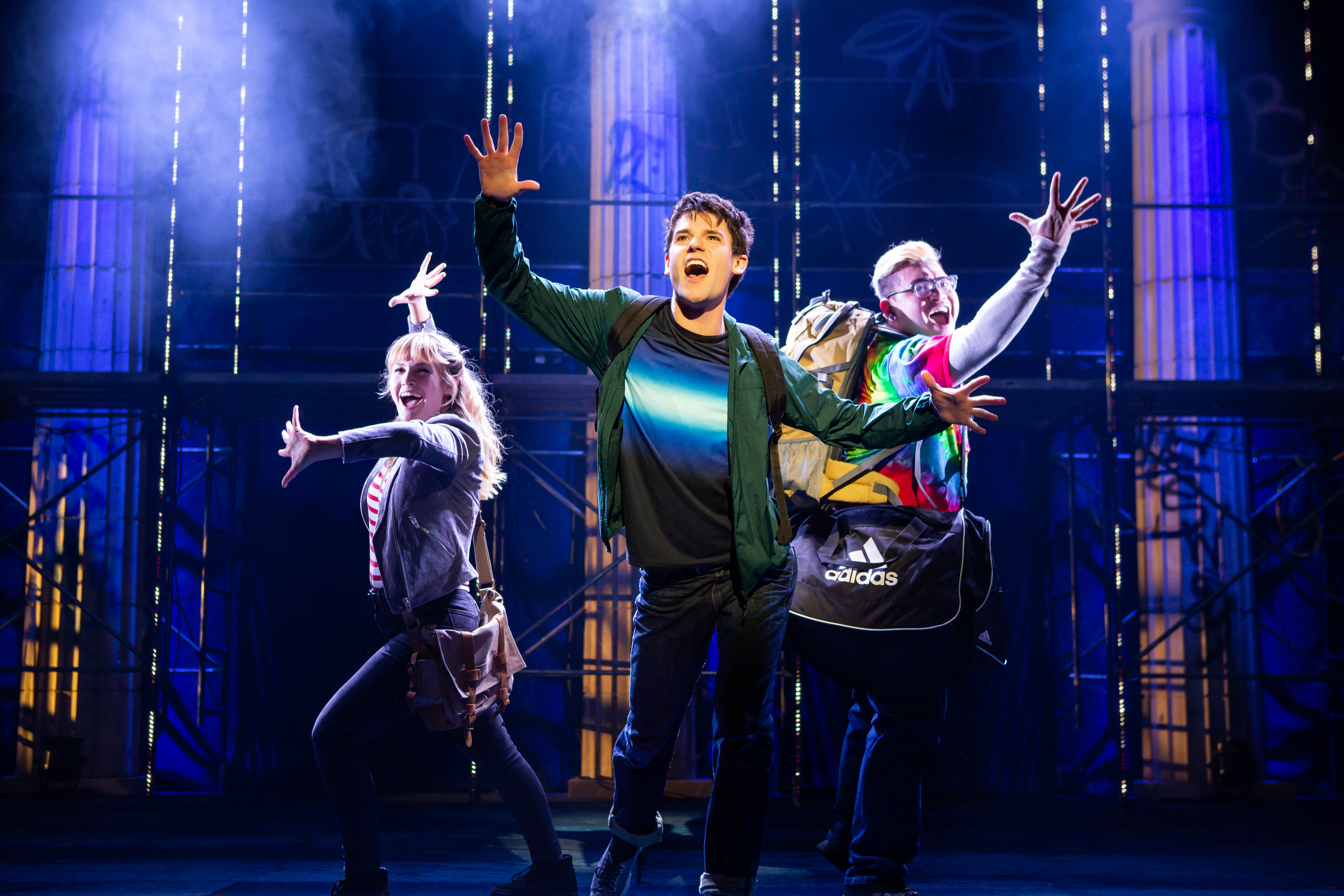 The Lightning Thief: The Percy Jackson Musical at the Beacon Theatre