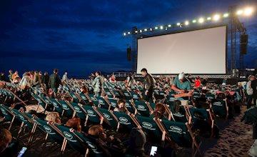 Movies on the Beach-Seaside Heights NJ-Carteret Avenue Beach