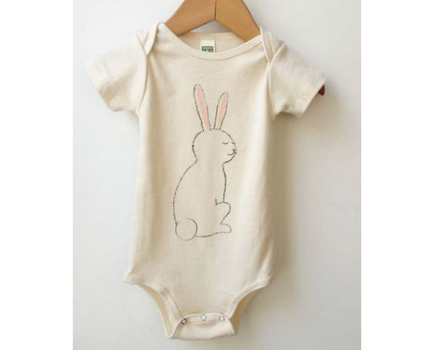 onesie with a bunny