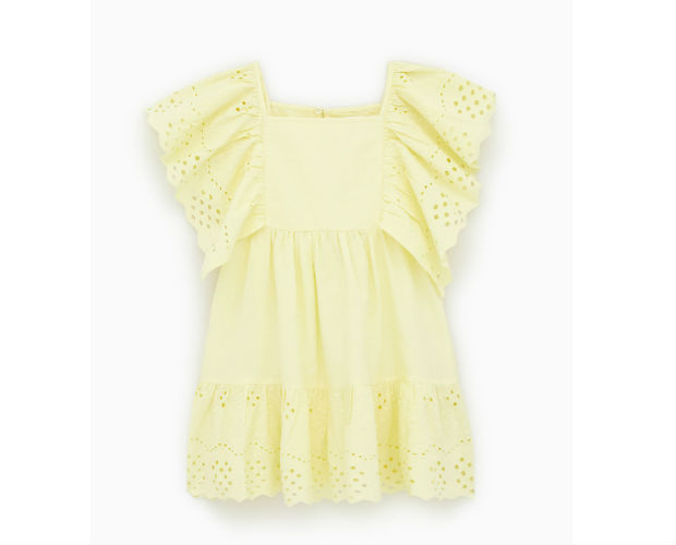 yellow easter dress