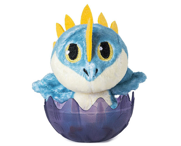 dragon stuffy in an egg
