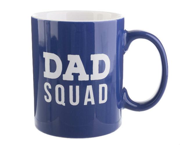 blue dad squad mug