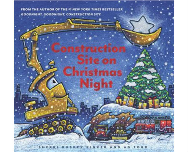 cover of the book construction site on Christmas night