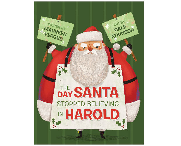 cover of the book the day Santa stopped believing in Harold