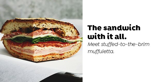 The sandwich with it all