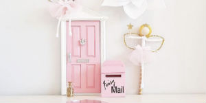 pinky fairy door
