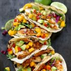 Fabulous Fish Tacos With Mango Salsa And Zesty Lime Mayo