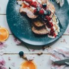 Sourdough French Toast with Chantilly Cream and Berries