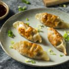 Homemade Ginger Pork Potstickers