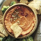 Simple Sun-Dried Tomato Hummus