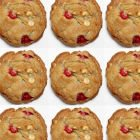 Cranberry-Orange White Chocolate Chunk Cookies