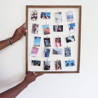 DIY Polaroid Photo Frames
