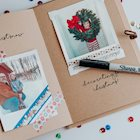 Polaroid DIY Christmas Memories Scrapbook