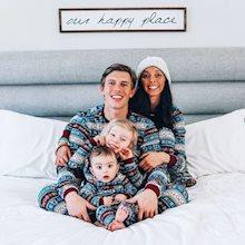 Christian Seda (@OverTheMoonMom) and family
