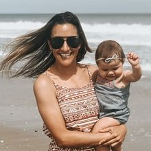 Teresa Ann Moon and baby