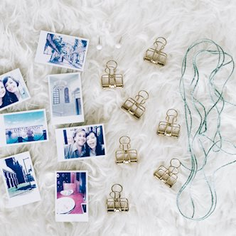 DIY Photo Hanging Decor