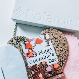 Happy Valentine's Day - Polaroid DIY