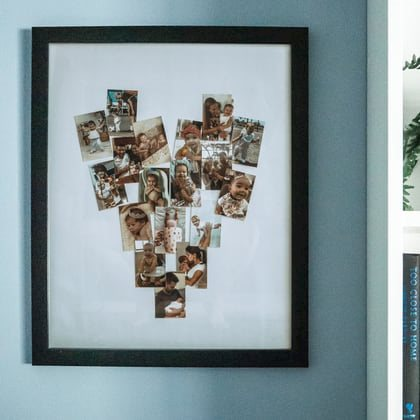 Mother's Day DIY Photo Collage with Polaroid Mint Pocket Printer
