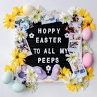 Hoppy Easter To All My Peeps