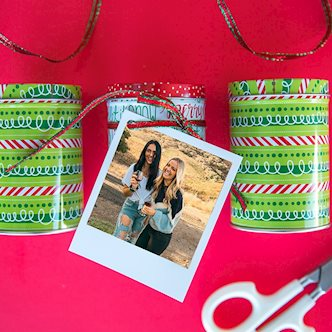 Polaroid DIY Gift Tags