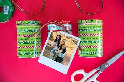 Polaroid DIY Gift Tags