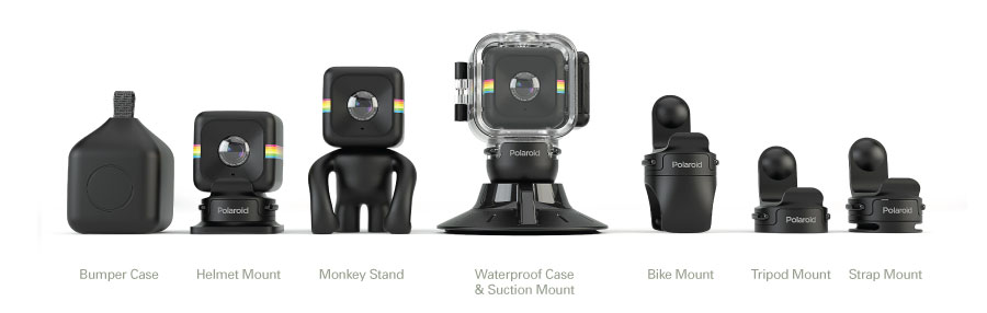 Polaroid Cube HD+ Action Camera Infoshop srl Portogruaro VE