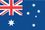 International flag Australia