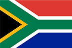 International flag South Africa