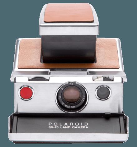 Polaroid SX-70 Camera Gift Set