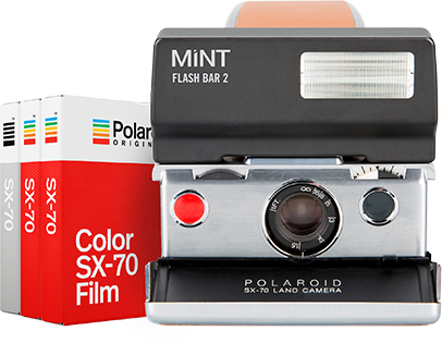 Polaroid SX-70 Camera Gift Set